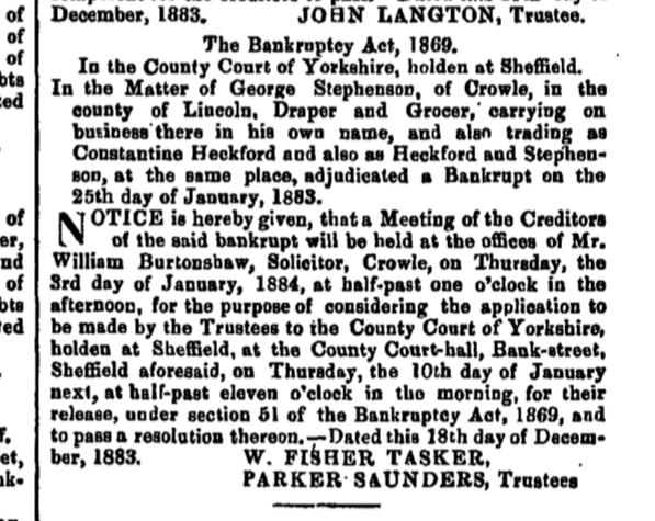 The London Gazette - 21 December 1883